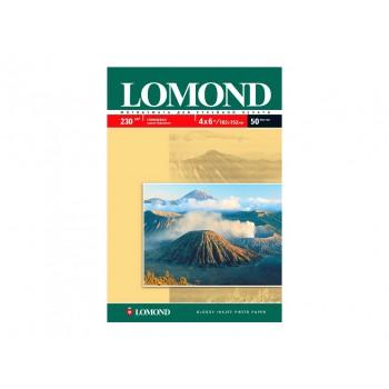 Фотобумага LOMOND Одностороняя Глянцевая, 230г/м2, A5(21x15)/50л. <0102070>