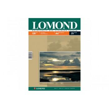 Фотобумага LOMOND Односторонняя Матовая, 120г/м2,A4 (21X29,7)/25л. для струйной печати <0102