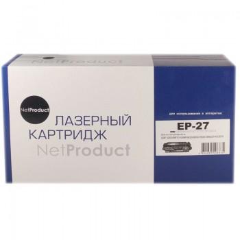 Картридж Canon MF 3110/3228/3240/LBP3200 (NetProduct) NEW EP-27, 2,5K
