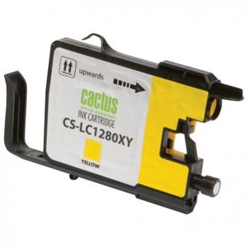 Картридж струйный Cactus CS-LC1240XY желтый для Brother MFC-J6510/6910DW (12мл)