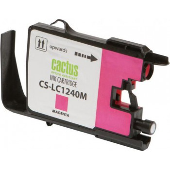 Картридж струйный Cactus CS-LC1240XM пурпурный для Brother MFC-J6510/6910DW (12мл)