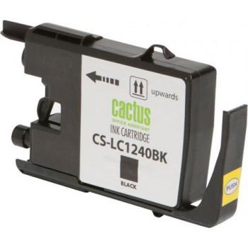 Картридж струйный Cactus CS-LC1240XBK черный для Brother MFC-J6510/6910DW