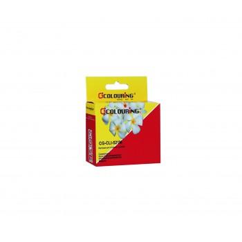 Картридж CG-CLI-521C для принтеров Canon IP3600/IP4600/MP540/MP550/MP620/MP630/MP980 с чипо