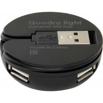 Универсальный USB разветвитель Defender Quadro Light USB 2.0, 4 порта (83201)