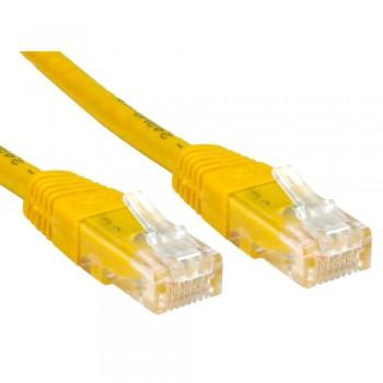 Патч-корд Exegate EX258674RUS UTP кат. 5e, 2м Exegate желтый