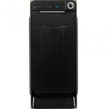 Корпус Accord E-01 черный без БП ATX 2xUSB2.0 1xUSB3.0 audio