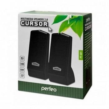 "Колонки Perfeo ""CURSOR"" 2.0, чёрный (PF-601)"