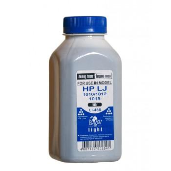 Тонер HP LJ 1010/1012/1015/1018/1020 (фл.110г.) B&W Light фас Ро