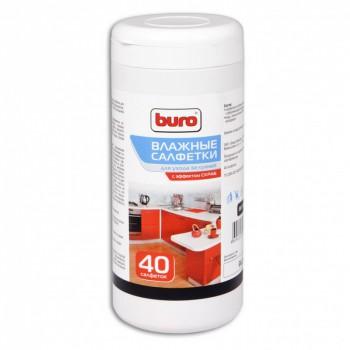 Чистящие салфетки Buro BU-H18 Влажные универсальные для кухни со скраб-эффектом