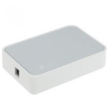 TP-Link Коммутатор LS1005, 5 портов Ethernet 100 Мбит/с