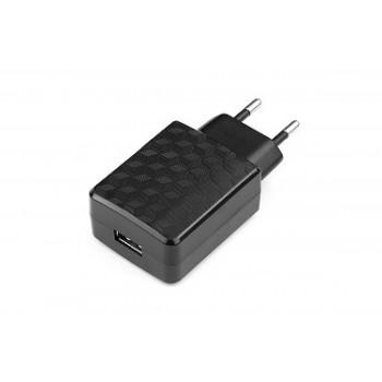аксессуары Cablexpert Адаптер питания 100/220V - 5V USB 1 порт, 2A, черный (MP3A-PC-05) <MP3A-PC-05>