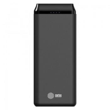 Мобильный аккумулятор Cactus F2001 Li-Pol 20000mAh 2A+2.4A 2xUSB