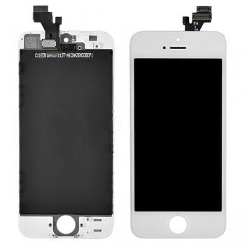 дисплей в сборе с тачскрином для Apple iPhone 5S (AAA), белый
