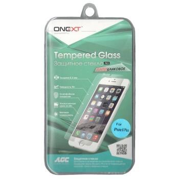 Защитное стекло Onext для телефона Apple iPhone 6 Plus антибликовое