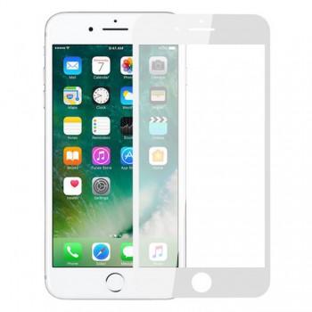 Защитная пленка Perfeo защитное стекло Apple iPhone 8 Plus белый 0.33мм 2.5D Full Screen Go