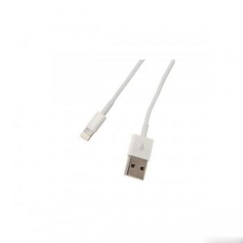 Кабель Continent USB A - Apple Lighting DCI-2104WT /OEM белый