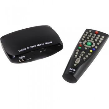 Цифровой телевизионный DVB-T2 ресивер BBK SMP002HDT2 черный