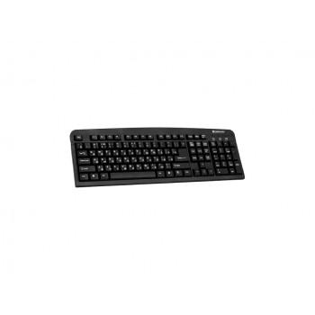 Клавиатура Defender Element HB-520 USB B черный