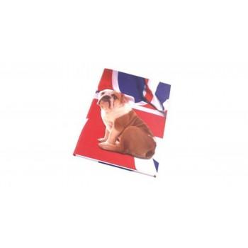 Блокнот Letts BULLDOG 192 страницы А5 линейка обложка PU  <415 905400>