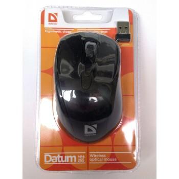 Беспроводная мышь оптическая Defender Datum MM-265 черный [52265]