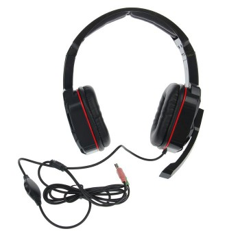 Гарнитура GAMING WARHEAD G-260 RED/BLACK 64121 DEFENDER