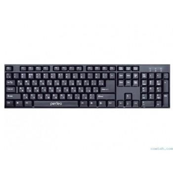 "Клавиатура беспроводная Perfeo ""Cheap"" USB, чёрная [PF-3208-WL]"