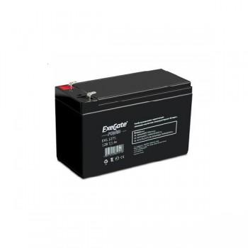 EXEGATE EP234538RUS Аккумуляторная батарея  Exegate EG7.5-12 / EXG1275, 12В 7.5Ач, клеммы F1 (универ