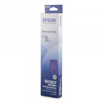 Картридж ленточный Epson C13S015637BA черный для Epson LX-350/LX-300+II