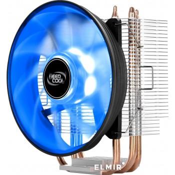 Кулер CPU DEEPCOOL GAMMAXX 300B (универсальный, 130W, 18-21 dB, 900-1600 rpm, 120мм, 4pin, медь+ алю