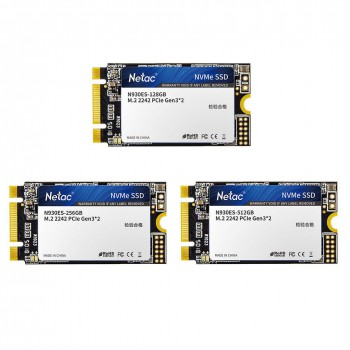SSD M.2 2242 Netac 128Gb N930ES Series <NT01N930ES-128G-E2X> Retail (PCI-E 3.1 x2, up to 1650/635MBs
