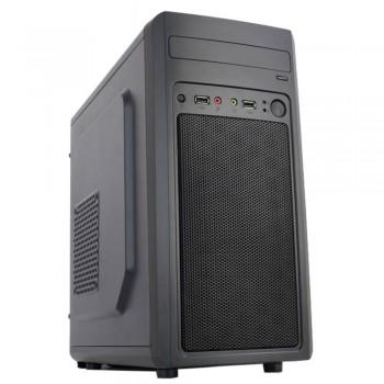 Корпус Accord M-02B черный без БП mATX 1x80mm 2x120mm 2xUSB2.0 audio