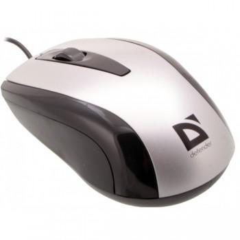 Мышка проводная Defender Optimum MM-140 GREY (52140)