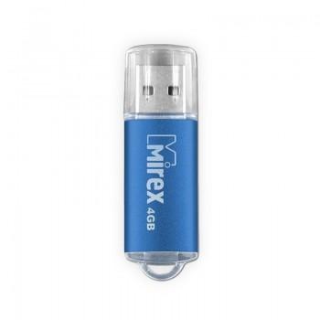 Флеш диск 16GB Mirex Unit, USB 2.0, синий