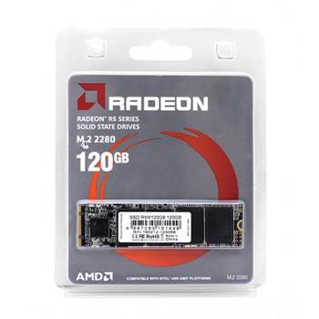 SSD AMD M.2 2280 120GB AMD Radeon R5 Client SSD R5M120G8 SATA 6Gb/s, 530/400, IOPS 64/81K, 3D TLC, R