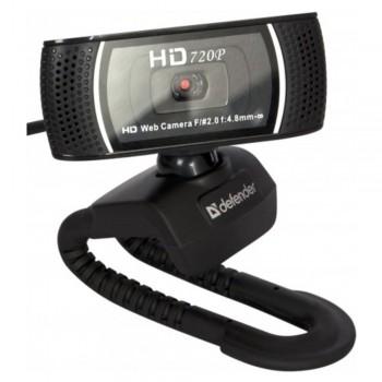 Веб-камера Defender G-lens 2597 HD720p 2 МП, 1280 x 720,USB 2.0,
