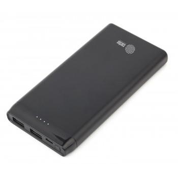 Мобильный аккумулятор Cactus CS-PBFSFT-10000 Li-Pol 10000mAh 2.1A+2.1A черный 2xUSB
