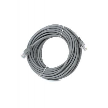 Патч-корд Bion UTP кат.5е 10м серый [Бион][BNPP12-10M]