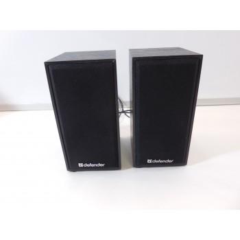 Колонки DEFENDER SPK-240 2.0 black (2x3 Вт, USB пит, раз. д. науш.)