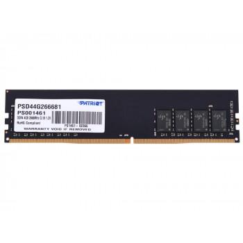 Память DDR4 4Gb 2666MHz Patriot PSD44G266682 RTL PC4-19200 CL19 DIMM 288-pin 1.2В