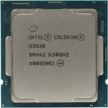 Процессор Intel Original Celeron G5905 Soc-1200 (CM8070104292115S RK27) (3.5GHz/Intel UHD Graphics 6