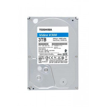 Жесткий диск Toshiba SATA-III 3Tb HDWU130UZSVA Video Streaming V300 (5940rpm) 64Mb 3.5""