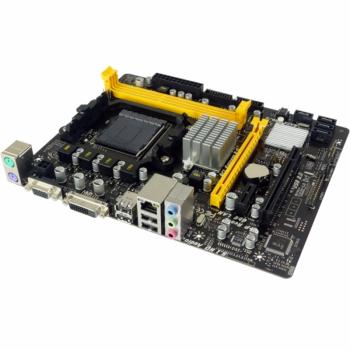 A960D+V3, Socket AM3+, AMD 760G+SB710, 2xDDR3-1333, D-SUB+DVI-D, 1xPCI-Ex16, 1xPCI-Ex1, 1xPCI, 4xSAT