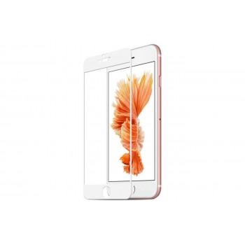 """Стекло на дисплей для iPhone 7/8 (4,7"""") (Gorilla Glass) 5D (белый)"""