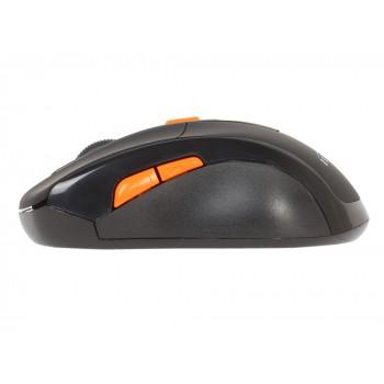 Мышь Oklick 585MW черный оптическая (1600dpi) беспроводная USB (5but)