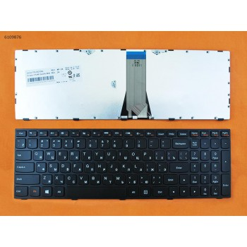 Клавиатура для Lenovo для IdeaPad G50-30, G50-45, G50-70, Z70-80 Black, black frame 25211020 2521103