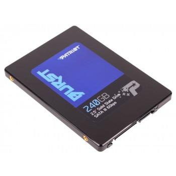 """Твердотельный накопитель SSD 2.5"""" 240GB Patriot BURST SATA3 PBU240GS25SSDR"""