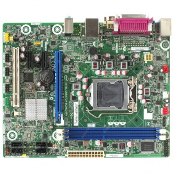 Материнская плата Intel mATX (S1155,H61,2*DDR3,GMA,3*PCIe,PCI,4xSATA-II,LAN,5.1HD,DVI/D-Su