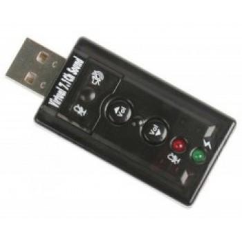 Звуковая карта C-Media USB TRUA71 (C-Media CM108) 2.0 Ret