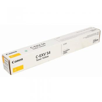 Тонер Canon C-EXV54Y 1397C002 желтый туба для копира C3025i