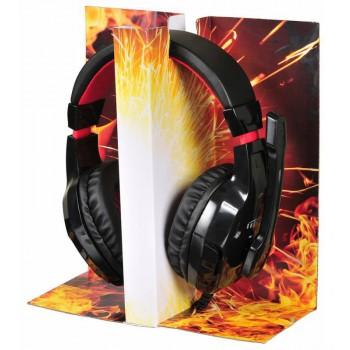 Наушники с микрофоном Oklick Phoenix HS-L320G черный 1.9м мониторы оголовье (NO-3000)